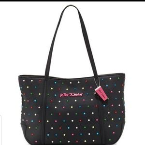Betsey Johnson Candy Dots Tote